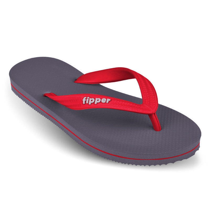Fipper Slick Grey / Red