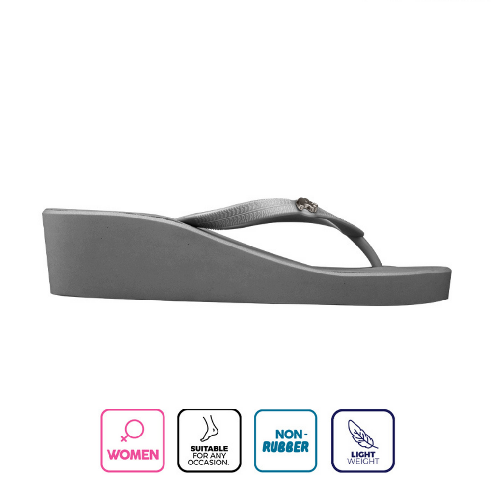 Load image into Gallery viewer, Fipper Wedges-S Grey