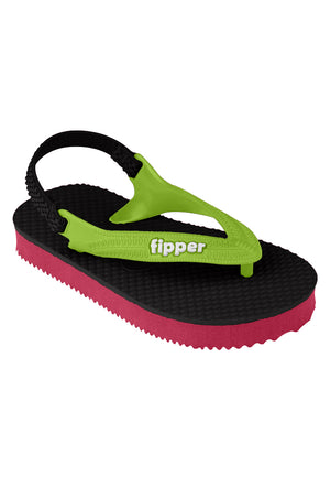 Fipper Todd's Black / Red (Ruby) / Green (Apple)