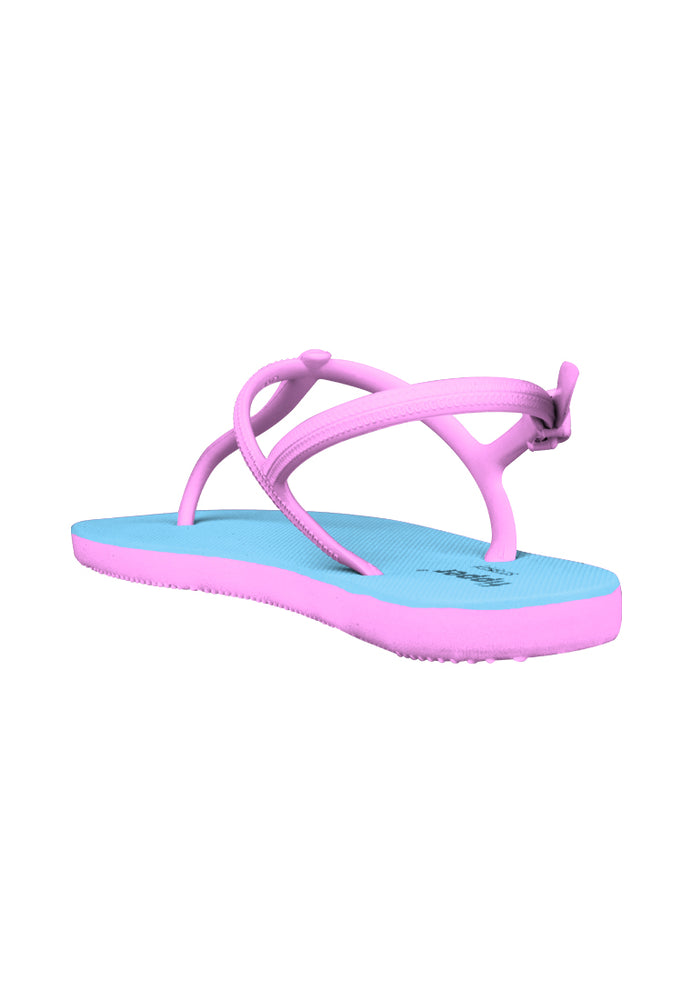 Fipper Strappy Blue (Sky) / Pink (Soft)