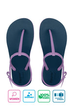 Fipper Strappy Blue (Snorkel) / Violet (Light)