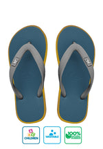 Fipper Kids Rubber for Children in Blue (Snorkel) / Yellow / Grey (Light)