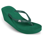 Fipper Wedges Green (Emerald)