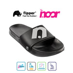 Exclusive Fipper x The Noor Slip on Series in Black Grey