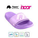 Exclusive Fipper x The Noor Slip on Series in Violet ( Perfume)-Violet