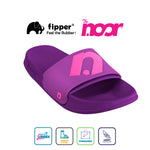 Exclusive Fipper x The Noor Slip on Series in Magenta Violet