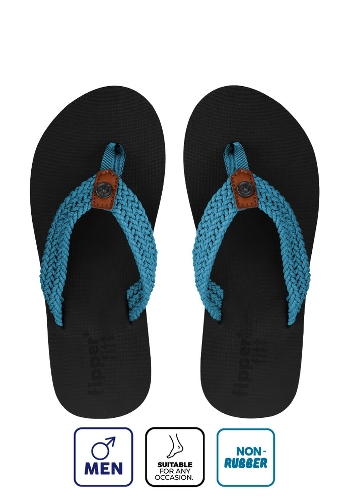 Fipper Fitt Black / Blue (Sky)