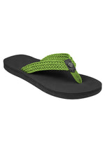 Fipper Fitt Black / Green Apple