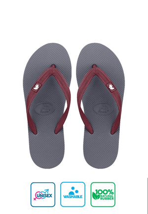 Fipper Walker Grey / Maroon