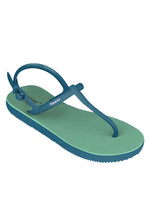 Fipper Strappy Green (Schist) / Blue (Snorkel)