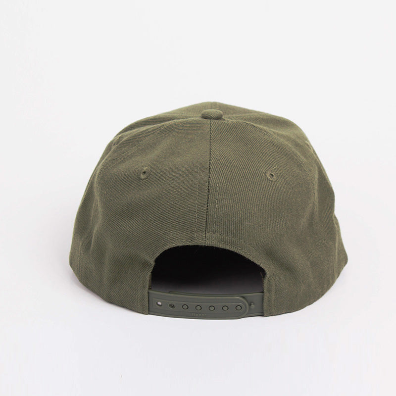 Fipper Snapback Cap 2K8 Green (Army)