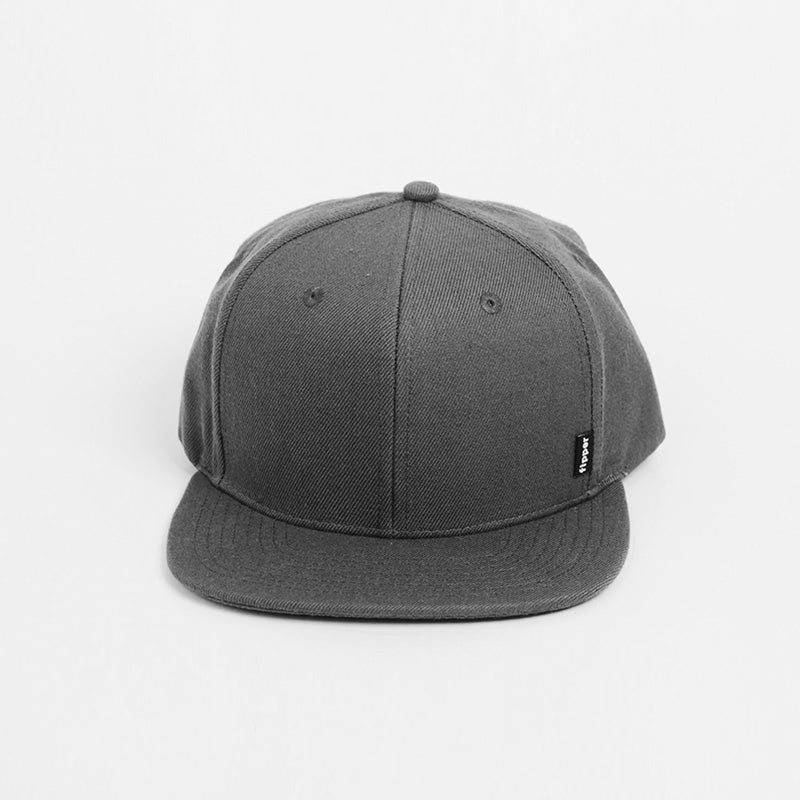 Fipper Snapback Cap 2K8 Grey (Dark)