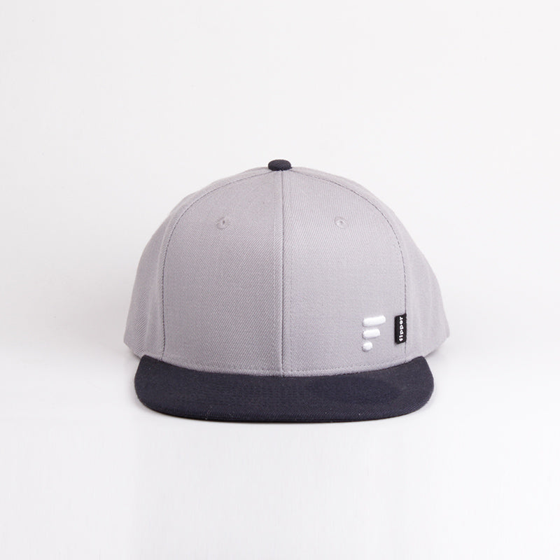 Fipper Snapback Cap 20Seven Grey(Light)/ Blue(Charcoal)