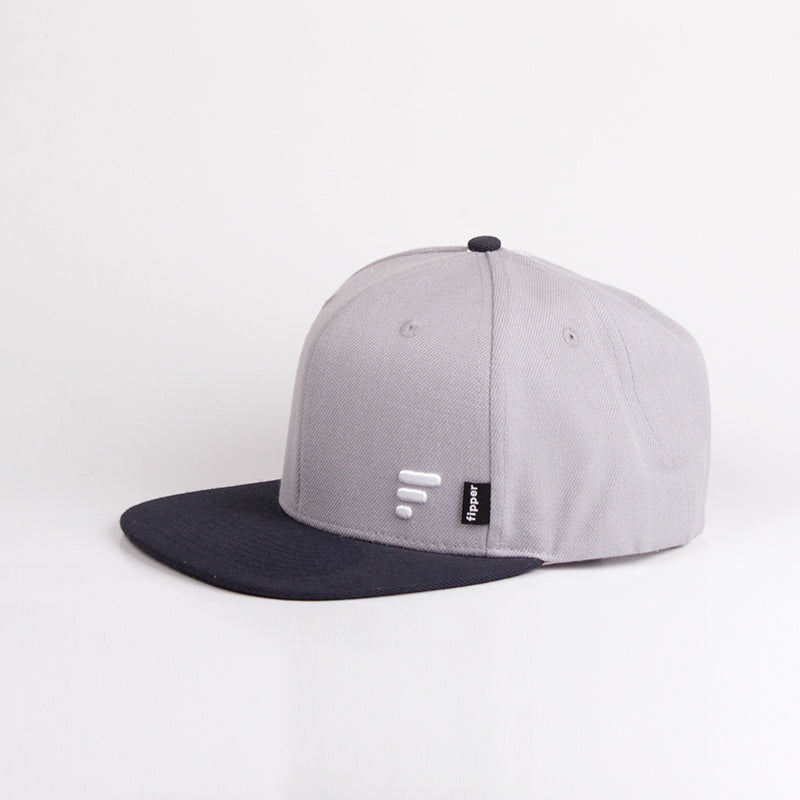 Fipper Snapback Cap 20Seven Grey (Light) / Blue (Charcoal)