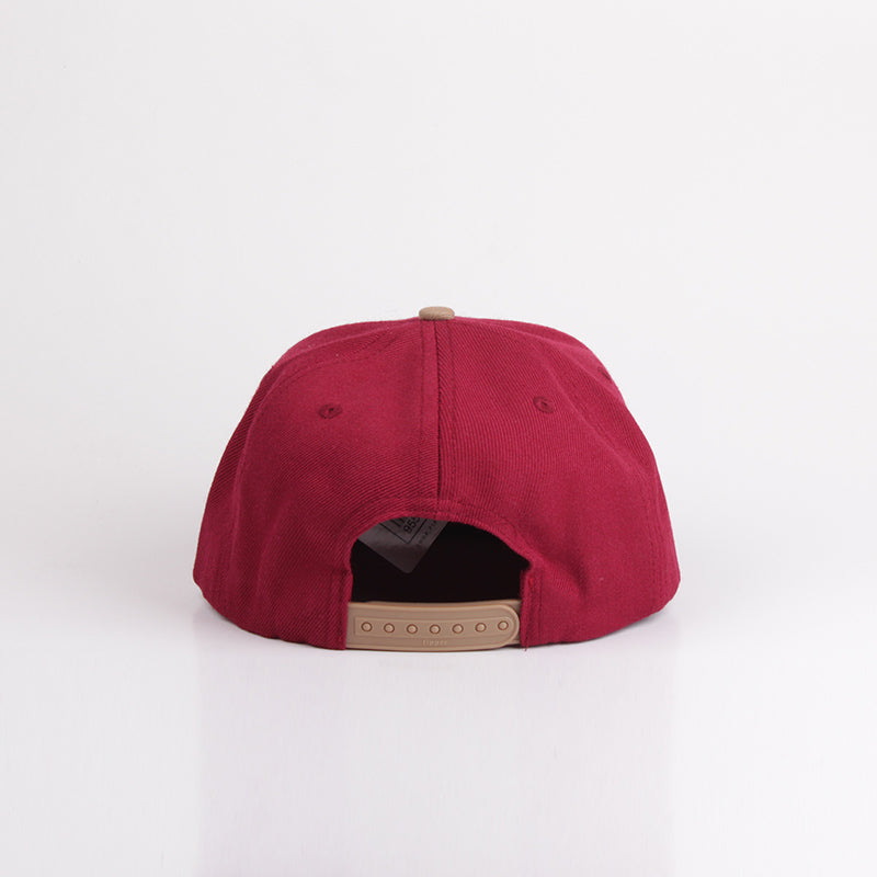 Load image into Gallery viewer, Fipper Snapback Cap 20Seven Maroon / Brown