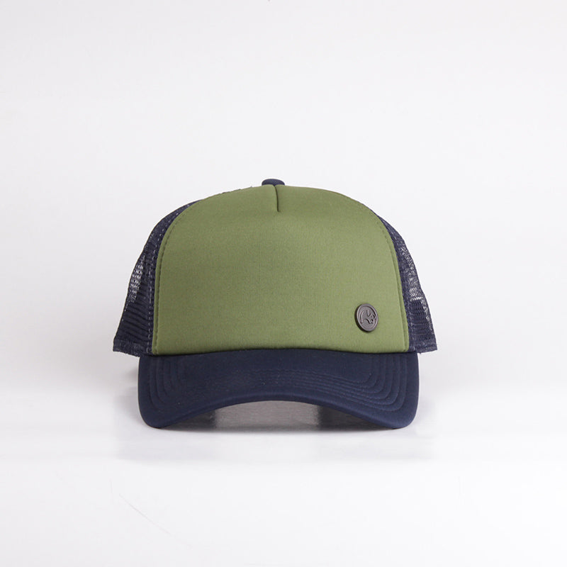 Fipper Trucker Cap 29Seven Green (Army) / Blue (Charcoal)