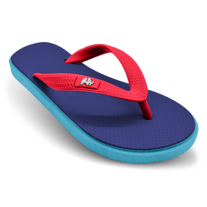 Fipper Kids Blue Snorkel / Turquoise / Red