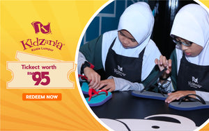 Kidzania Indoor Theme Park Ticket