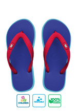 Fipper Kids Blue Snorkel / Turquoise (Light) / Red