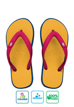 Fipper Kids Rubber for Children in Mustard / Navy / Red (Ruby)