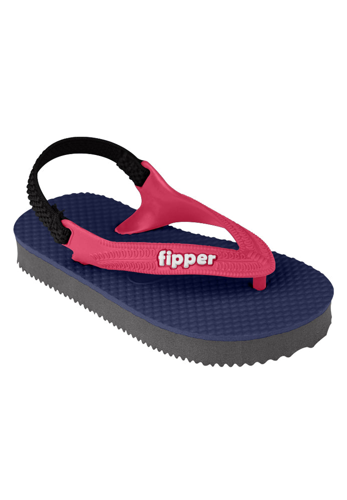 Fipper Todd's Navy / Grey / Red (Ruby)