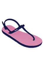 Fipper Strappy Pink (Soft) / Blue (Navy)