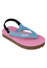 Fipper Todd's Pink / Brown (Dark) / Blue (Sky)