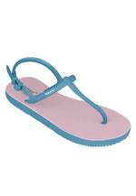 Fipper Strappy Pink (Light) / Blue (Sky)