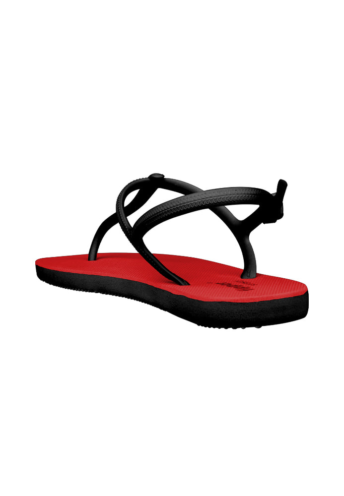Fipper Strappy Red / Black