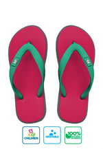 Fipper Kids Rubber for Children in Red (Ruby) / Grey (Light) / Turquoise
