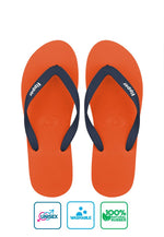 Fipper Slick Rubber for Unisex in Orange / Blue (Snorkel)