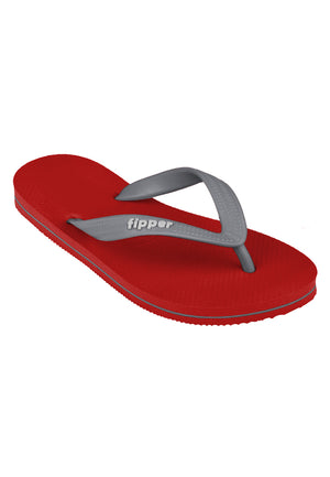 Fipper Slick Red / Grey (Light)