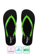 Fipper Slim Black / Green (Apple)