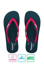 Fipper Slim Blue (Snorkel) / Red (Ruby)