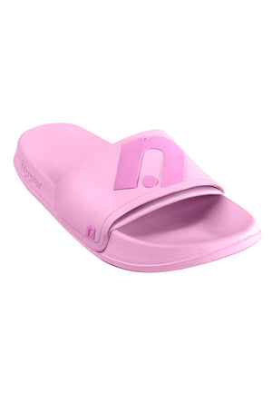 Exclusive Fipper x The Noor Slip on Series in Pink Plum -Pink