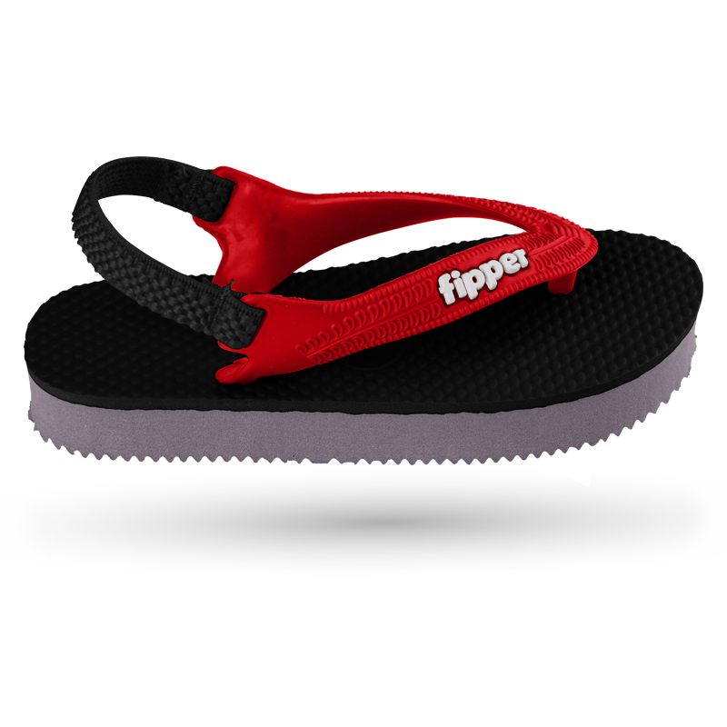 Fipper Todd's Black / Grey / Red / Black