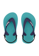 Fipper Todd's Turquoise / Purple / Navy