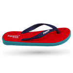 Fipper Wide Red / Turquoise / Blue (Navy)