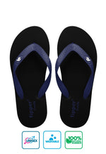 Fipper Comfy Black / Blue (Navy)
