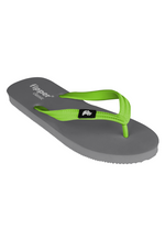Fipper Classic Rubber for Unisex in Grey / Green (Apple)
