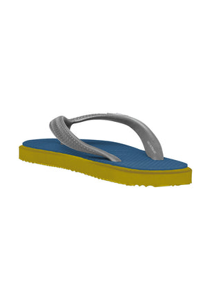 Load image into Gallery viewer, Fipper Kids Rubber for Children in Blue (Snorkel) / Yellow / Grey (Light)