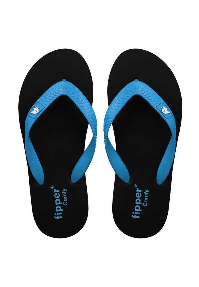 Fipper Comfy Rubber for Unisex in Blue (Sky)