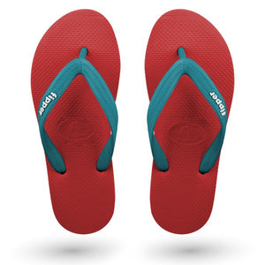 Fipper Slick Red / Turquoise