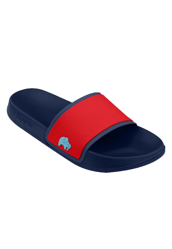 Load image into Gallery viewer, Fipper Slip On Navy / Red