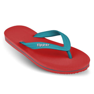 Load image into Gallery viewer, Fipper Slick Red / Turquoise