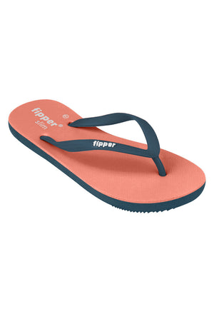 Load image into Gallery viewer, Fipper Slim Peach / Blue (Snorkel)