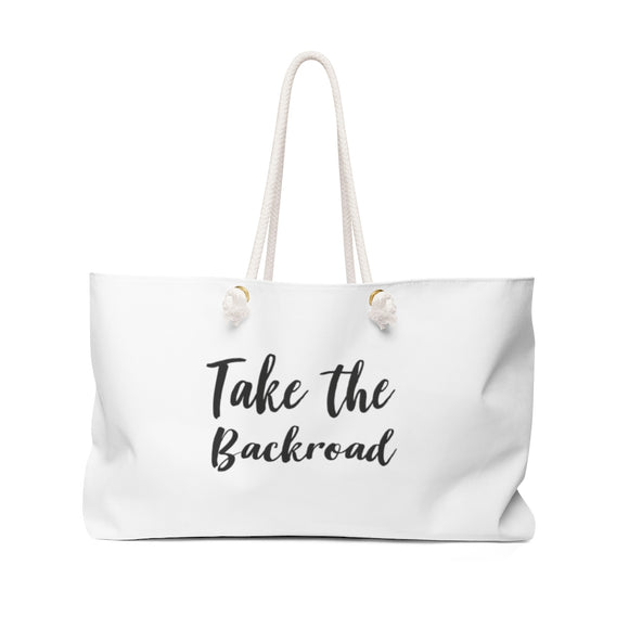 Take the Backroad Weekender Bag