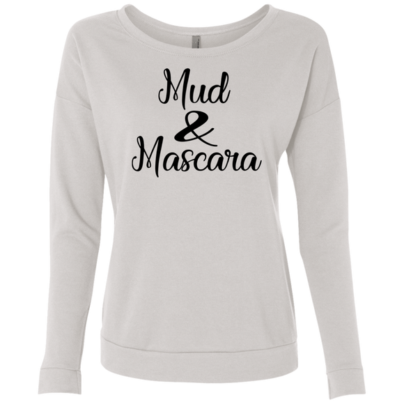 Mud & Mascara Ladies' French Terry Scoop