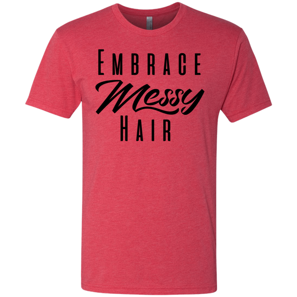 Embrace Messy Hair Triblend Reg Fit T-Shirt