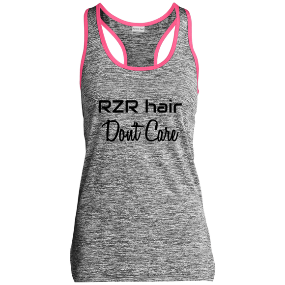 RZR Hair Don't Care Ladies' Moisture Wicking  Racerback Tank
